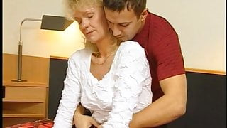 Very Hairy German Mature Blonde At Casting