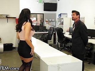 Natalie myers nude Devilsfilm violet myers sure knows how 2 get a raise