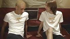 Tristan Spears and Blaze Corgan masturbate together