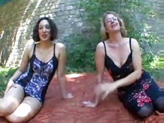 Mature women torturing dicks - 2 dicks for 2 women
