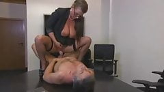 Secretary Sexy Susi Fucked In Ass Wearing Stockings