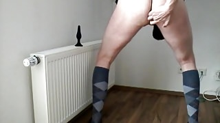 Kniestruempfe und Plug