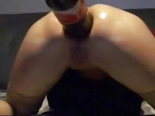 Using bottles anal How to use cocacola bottle to fist asshole. amateur extreme