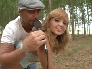 Elder erotica justine blonde Justine analfucked in a forest