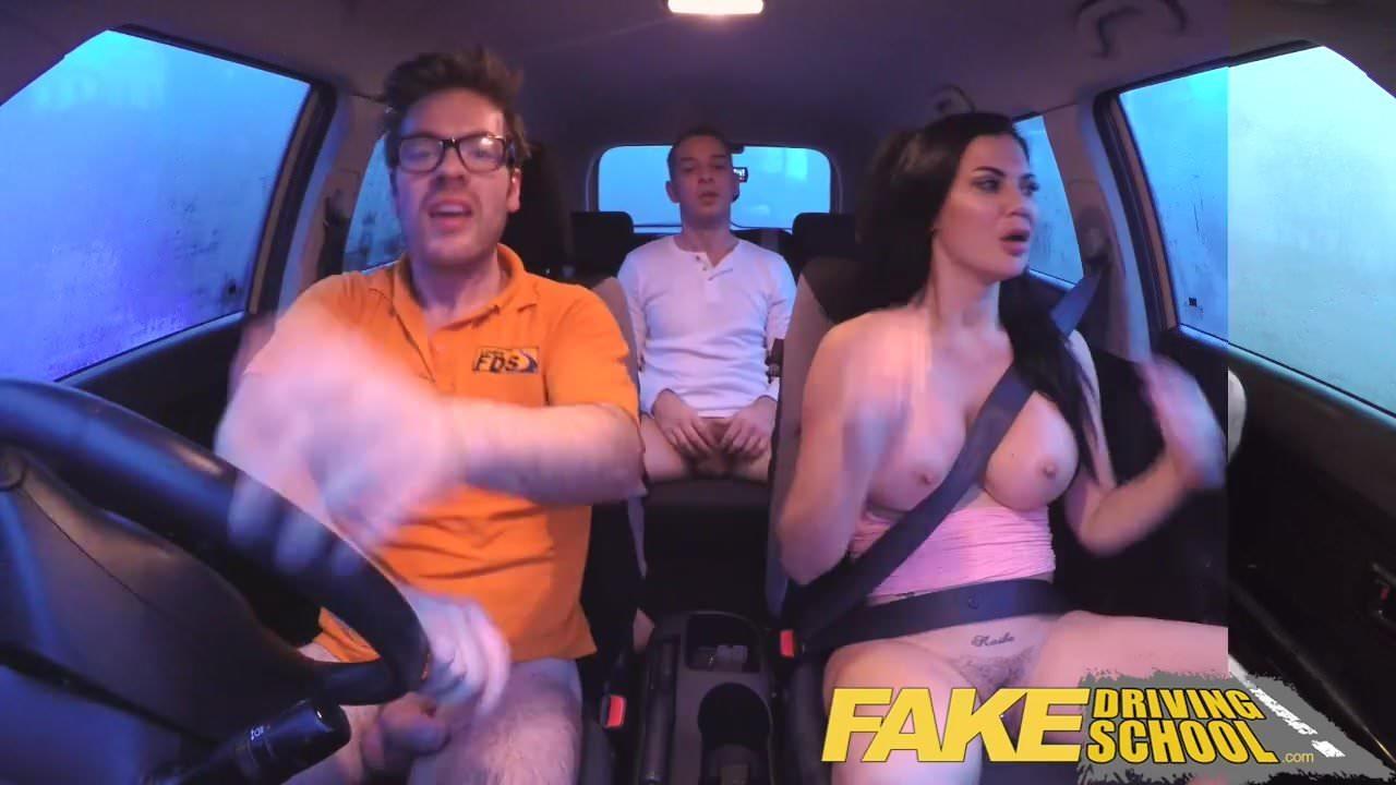 Fake Agent Uk Threesome