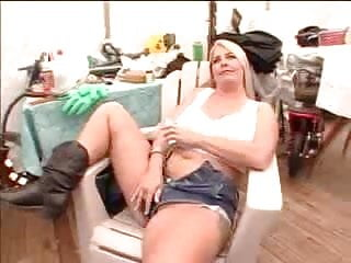 Trailer park moms porn Busty hairy milf fucks a lucky dude in a trailer park