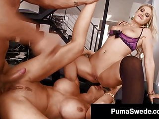 Cruising for sex in ventura Swedish star puma swede face fucks cock with dd ventura