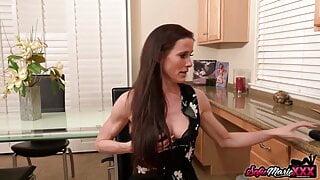 Kinky Stepmom Sofie Marie Seduces Stepson To Impregnate Her