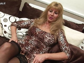 Sex videos of grandmas Hot grandma stuffing her pussy with a dildo
