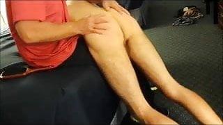 Boy spanking