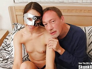 Skunk riley interracial - Thin masked wife fucks big black cock
