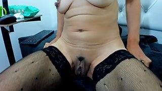 Pissing Latina Slut