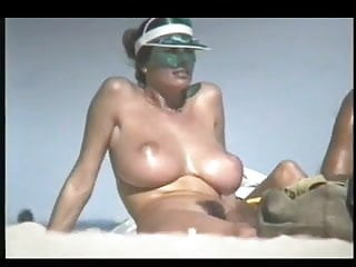 Fabulous milfs - Fabulous busty babe on nude beach