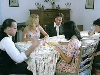 Humorn porno table Vintage porno. pussy under table.