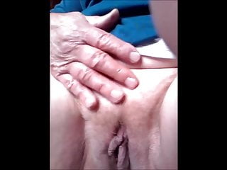 In your pussy - Brazilian granny 66 years old show your pussy