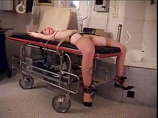 Photos slave pussy spread for master - Redhead with big naturals bound with her legs spread for her master
