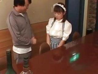Waitress fuck Busty japanese waitress fucked in public