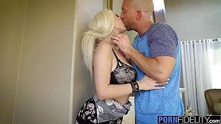 PORNFIDELITY Big Tit Babe Skylar Vox Filled With Cum