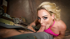 VR BANGERS Blonde Cheating On Husband With Handyman VR Porn