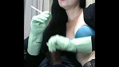 smoking gloves wife makes me so happy