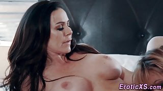 Lesbian milf rimming and licking