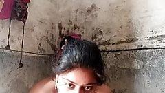 Anju bhabi bath