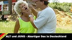 Depraved in Germany – 70+ Grandma