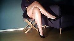 Leg cross whit Calves Slam
