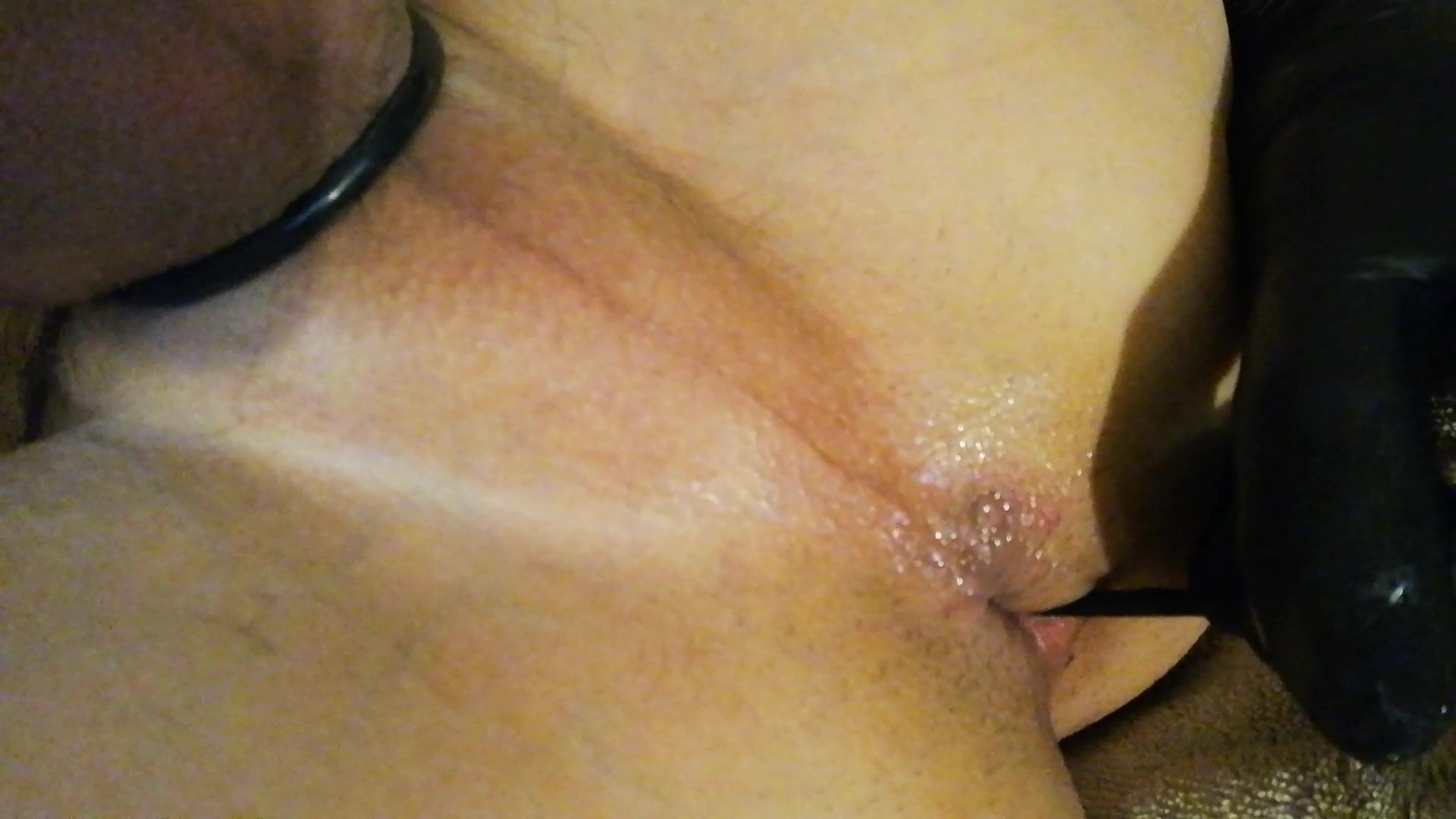 Yanking Out Anal Beads