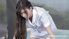 Private.com - Teen Maid Anya Krey Double Butt & Pussy Fucked