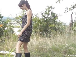 Bdsm fetish rubber sex - Rubber boots on shoulders