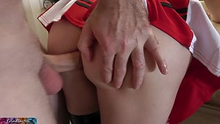 Ass fucking stepmom to preserve her marriage