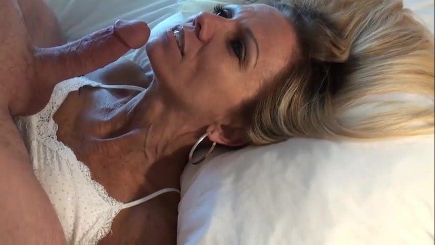 Blonde Facial Porn