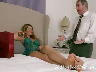 Soft blonde handjob tube Soft feet worship handjob