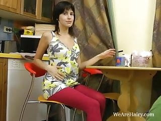 Pictures of girls wearing oversized pantyhose - Lanka wears red pantyhose