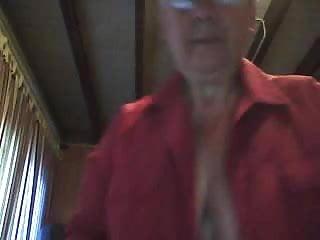 Boobs on grandma Grandma shows boobs on cam
