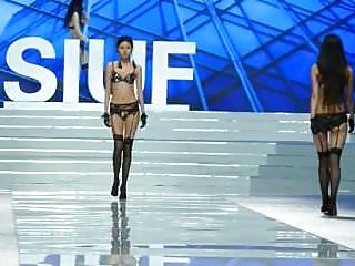 Young girl underwear lingerie model Chinese underwear model underwear show