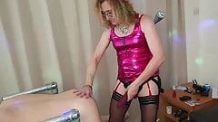 Perfect Pegging - Essex Girl Lisa is Pegging a Friend