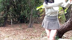 Don't look inside the skirt