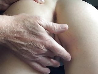 Ass lick - Wife pussy play and ass lick with a cowgirl cum ending