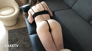 Massage for petite schoolgirl with shaved pussy - CAKETV