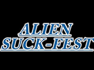 Hentai videos aliens - Alien suck-fest