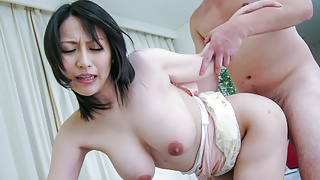 Yuuna Hoshisaki makes magic with her tig - More at 69avs.com