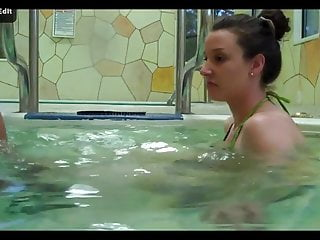 Masturbation in hot tub - Hot tub blowjob in the face