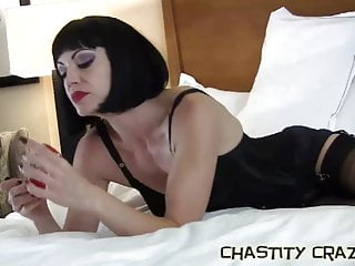Gay hard in bondage pisse - I hope you dont get hard in your chastity device