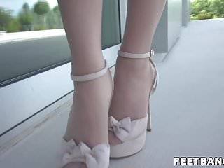 Caling someone gay - Sexy foot fetish on a balcony - dominica fox kristof cale