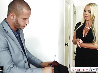 Busty blonde hardcore video Busty blonde nikki benz take cock