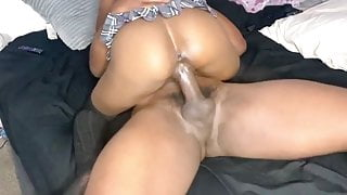 EBONY SCHOOLGIRL FUCKED BY STEPBROTHER RIGHT AFTER CLASS
