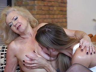 Granny Emily Jane Fucks Hot Babe Polina Maxima XhNDONS