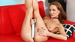 Huge Vibrator Fun For Sexy Cynthia